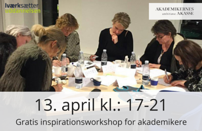 Inspirationsworkshop for akademikere